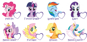 0583B_Indiv_Freundebucher_MLP_IS_Auswahl_Fav_Pony_1